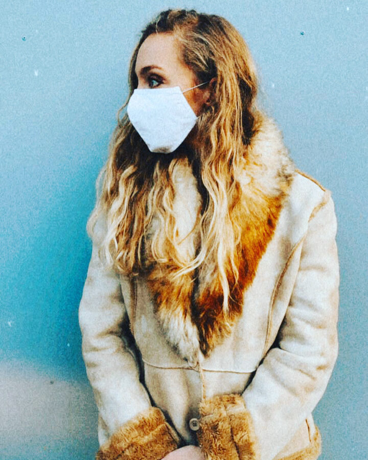 ''BALTA''- Aizsargmaska ar antibakteriālo apstrādi  SILVERPLUS®