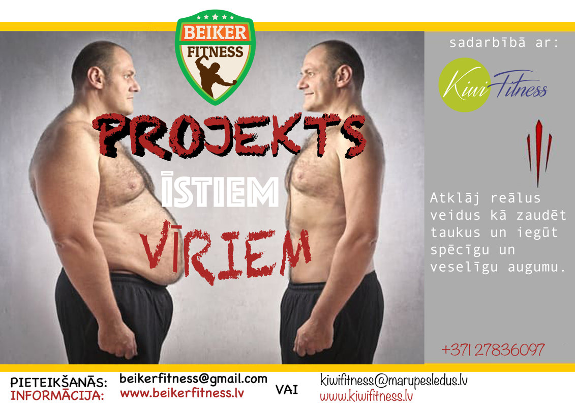 FITNESS PROJECT FOR REAL MEN