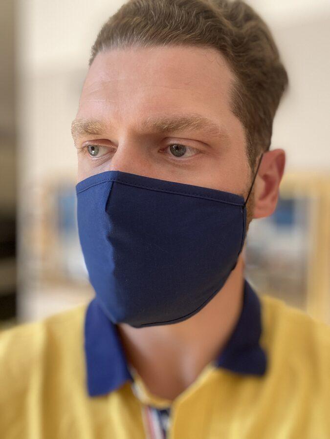 ''ZILA''- Aizsargmaska ar antibakteriālo apstrādi  SILVERPLUS®