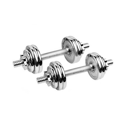 DUMBBELLS SET 20KG SPOKEY EGIS LUX