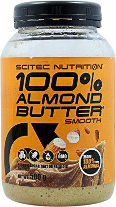 SCITEC NUTRITION ALMOND BUTTER SCITEC NUTRITION