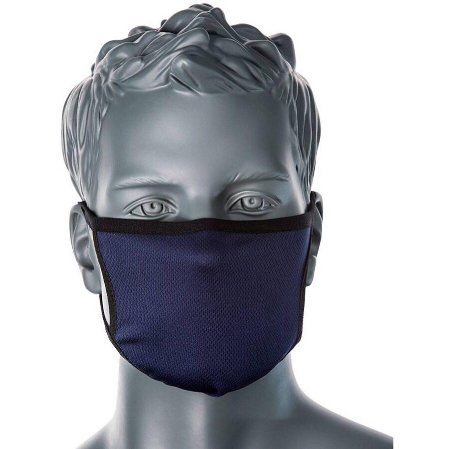 PORTWEST 3-slāņu pretmikrobu auduma sejas maska